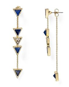 House of Harlow 1960 Triangle Trellis Drop Earrings | Bloomingdale's. As the name suggests, House of Harlow 1960's jewelry designs reflect a covetable vintage aesthetic that still feels utterly cool and modern. These dainty linear earrings deliver on both fronts.