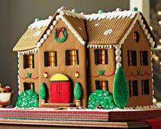12 новогодних пряничных домиков с рецептом - Фото Еда