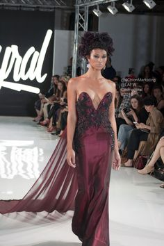 COSMOGYRAL #LAFW #gowns   #dresses #modeling #catwalk #beauty #fashion #FW16