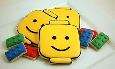 The secret to Sweet Sugar Belle's Lego man cookies? A DIY cookie cutter! Source: Sweet Sugar Belle