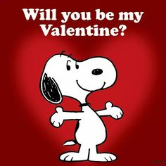 Snoopy will you be my valentines - quotes - . - Snoopy will you be my valentines – quotes – -