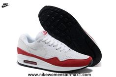 2013 White Red 2013 Nike Air Max 87 Womens Shoes
