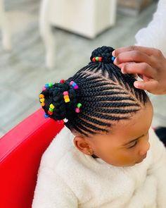 Little Girls Natural Hairstyles, Little Girl Braid Hairstyles, Toddler Braided Hairstyles, Black Kids Hairstyles, Baby Girl Hairstyles, African Hairstyles For Kids, Little Girl Braid Styles, Little Girl Braids, Braids For Kids