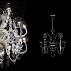 carlo scarpa chandelier 99.31 by...     $93,600.00