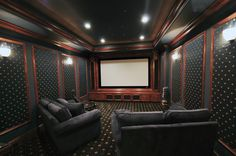 23 best home theater rooms images home theatre home theater rh pinterest com  simple home theater room ideas
