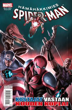 Hämähäkkimies - Spider-Man nro 6/2014. #sarjakuva #sarjakuvalehti #sarjis #egmont #marvel