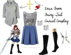 Casual Cosplay - Erza Scarlet