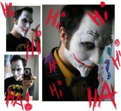 Hello puppy ;p Joker cosplay