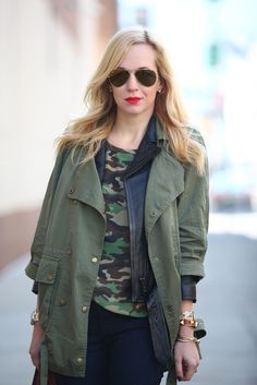 How to Wear Camo Prints: 40 Outfit Ideas To Try Now   StyleCaster