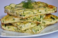 Frittata cu dovlecei si marar Baby Food Recipes, Cooking Recipes, Baking Bad, Vegan Foods, Zucchini, Vegetarian Recipes, Food And Drink, Health Fitness, Appetizers