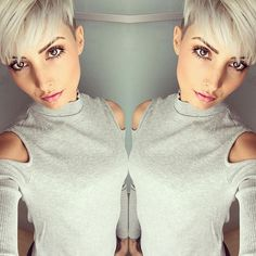 Love this undercut. Wish to see the back