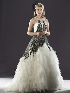 Fleur Delacour's wedding dress ~ From Harry Potter and The Deathly Hallows