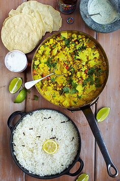 Ideas for Meat Free Mondays! Jamie Oliver - Keralan veggie curry