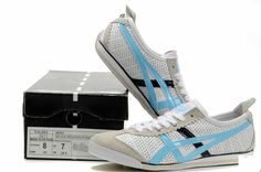 Discount Asics Onitsuka Tiger Mini Cooper White Light Blue Black Shoes