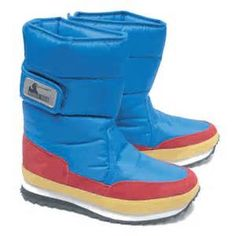 1980s snow boots