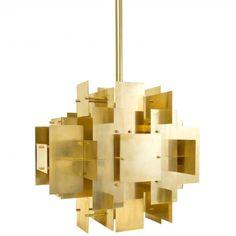 Modern Lighting | Puzzle Ceiling Lamp Chandelier | Jonathan Adler