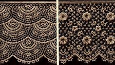 vintage Irish Crochet, Irish crochet,