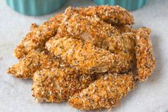 Oven-baked Parmesan Chicken Strips