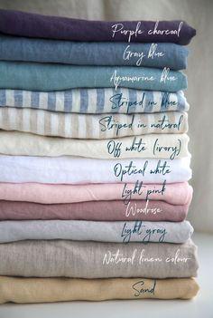 Beautiful Handmade Natural Linen Bedding | MagicLinen on Etsy