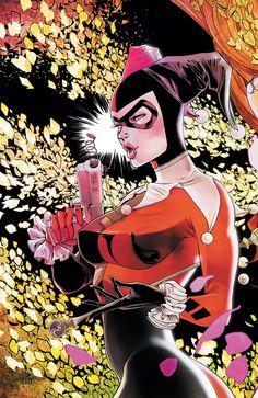 Ata-Boy DC Comics Gotham City Sirens - Harley Quinn x Magnet for Refrigerators and Lockers Batgirl, Catwoman, Harley Quinn Et Le Joker, Batman Comic Art, Batman Batman, Batman Arkham, Batman Robin, Gotham Girls, The Villain