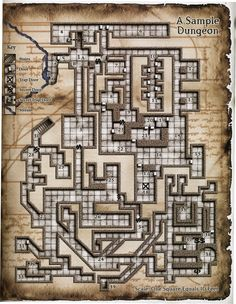 An updated take of the dungeon from the 1st edition DMG