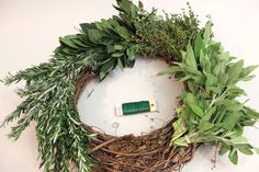 all season green wreath - Google Search