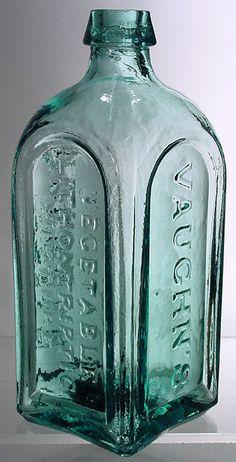 Vaughn's Vegetable Lithontriptic Mixture Buffalo Antique Bottles, Bottles And Jars, Glass Bottles, Churning Butter, Vintage Jars, Buckets, Tins, Buffalo, Paintings