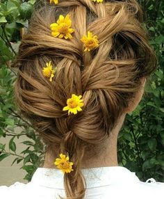 Fair + Floral + French Braid
