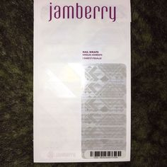 Jamberry Clear Geo Stylebox Exclusive Nail Wraps