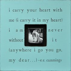 I Carry Your Heart Photobox Frame at Jack and Jill Boutique