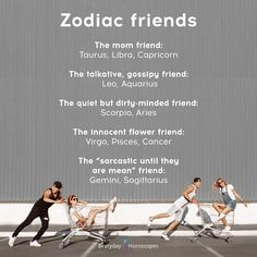 What kind of friend zodiac signs are. Are you this kind of friend? Zodiac Sign Traits, Zodiac Art, Leo Zodiac, Zodiac Quotes, Astrology Zodiac, Astrology Signs, Astrology Chart, Zodiac Compatibility, Libra