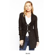 Knit Toggle Cardigan - Assorted Colors at 74% Savings off Retail!