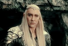 can we talk about this look on thranduil's face when he sees tauriel cry