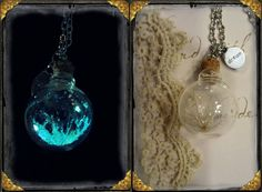 Hey, I found this really awesome Etsy listing at https://www.etsy.com/listing/164894238/glow-in-the-dark-glass-orb-dandelion
