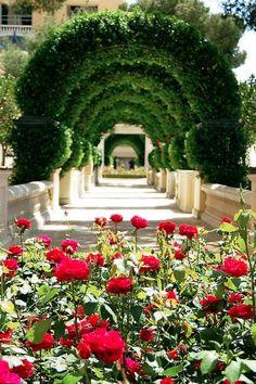 Great European Garden Idea