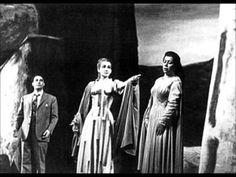 """M. CALLAS, G. SIMIONATO & M. DEL MONACO """"Trio Act I"""" NORMA (Vincenzo Bellini), LIVE 1955, Teatro alla Scala, Milano"""