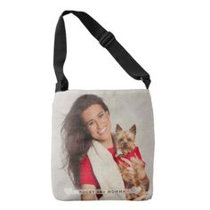 """Your Personalized Photo"" Crossbody Bag - accessories accessory gift idea stylish unique custom"