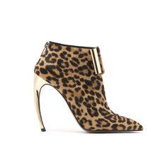 """Gold heel """"Disco Bootie"""" by Walter Steiger"""