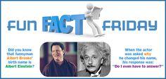 Albert Brooks = Albert Einstein