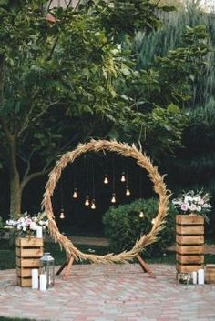 diy rustic wedding arch ideas with lanterns wedding decor style 34 Chic Wedding Decoration Ideas with Lanterns on A Budget Wedding Arch Rustic, Chic Wedding, Wedding Ceremony, Dream Wedding, Wedding Summer, Rustic Theme, Wedding Hacks, Party Wedding, Wedding Table