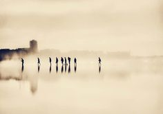 THE LONG WALK HOME.........By Ingrid Beddoes #photography #sepia