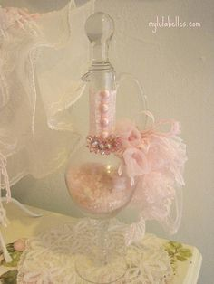 Victorian Bustle Bottle