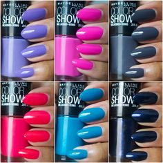 Amor de Lacquer: Maybelline Color Show nail polishes – they rock!
