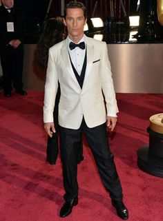 Best actor in a leading role, Oscar winner, Matthew McConaughey at the Oscars. http://berrytrendy.com/2014/03/03/academy-awards/