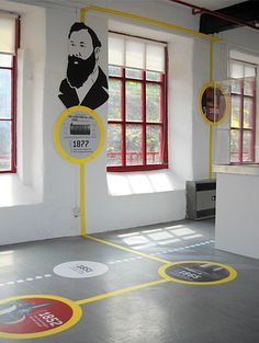 Leeds Museum and Galleries hired Inchpunch to transform an empty room into an inspirational and engaging visitor space. Ppt Design, Icon Design, Design Social, Design Posters, Corporate Design, Exhibition Stand Design, Exhibition Display, Exhibition Space, Exhibition Ideas