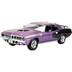 Revell Scale 71 Hemi Cuda 426 Model Kit For Daddy! Revell Model Cars, Diecast Model Cars, Model Cars Building, Plastic Model Cars, Model Cars Kits, Performance Cars, Model Airplanes, Scale Models, Just In Case