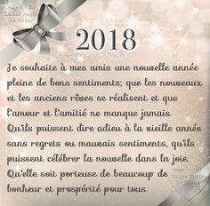 Happy New Year QUOTE - Image: Quotes of the Day - Life Quote I wish my friends a happy n Happy New Year Quotes, Quotes About New Year, Happy New Year 2019, Happy Year, Nouvel An Citation, Les Sentiments, New Year Greetings, Visual Statements, Teacher Quotes
