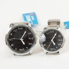 Pocket Watch-Personalized couple numeric watch