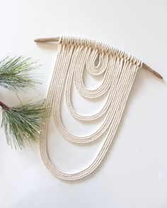 Your place to buy and sell all things handmade Rope Crafts, Diy And Crafts, Arts And Crafts, Macrame Wall Hanging Patterns, Rope Art, Macrame Design, Idee Diy, Macrame Projects, Heart Wall