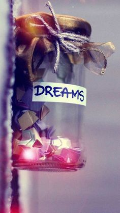 Dreams In Jar IPhone Wallpaper Mobile Wallpaper Iphone 6 Wallpaper, Wallpapers Android, Cute Wallpaper Backgrounds, Pretty Wallpapers, Girl Wallpaper, Galaxy Wallpaper, Wallpaper Quotes, Wallpaper Wallpapers, Best Wallpapers For Girls